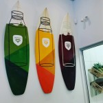 Juice-Themed surf boards